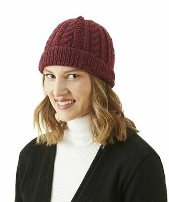 Trenza Cable Alpaca Hat