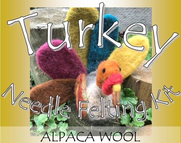 Turkey Needle Felting Kit