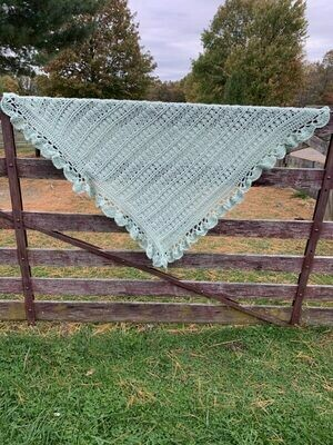 Mayflower Alpaca Baby Blanket