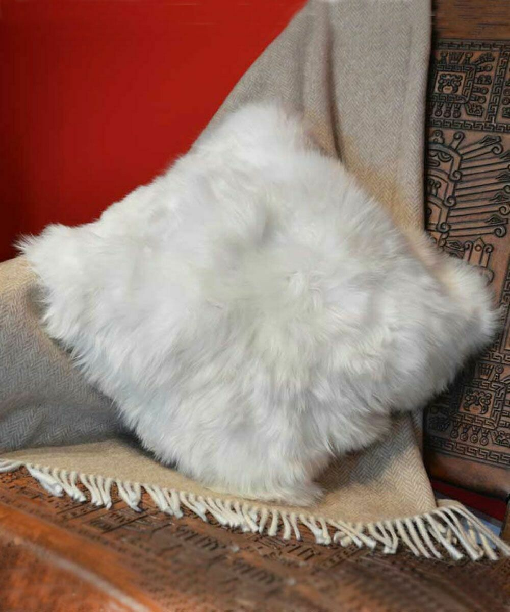 Fur Pillowcase Double-Sided 100% Baby Alpaca