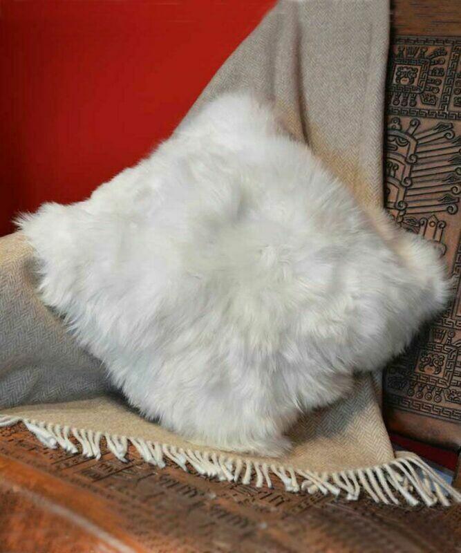 Fur Pillowcase Double-Sided 100% Baby Alpaca