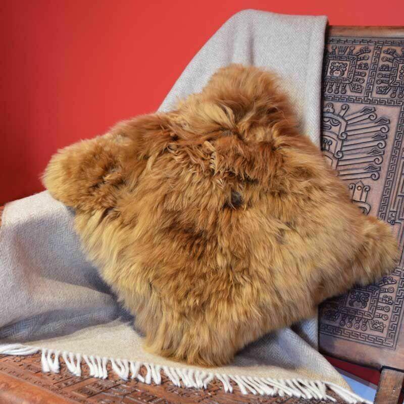 Fur Pillowcase Single-Sided 100% Baby Alpaca
