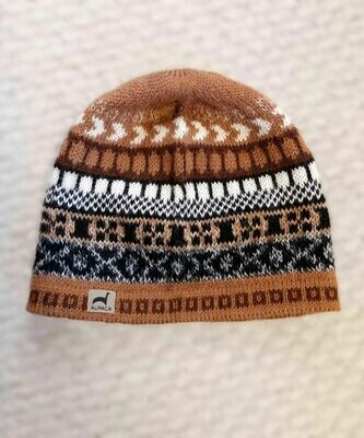 NEW Peruvian Natural Alpaca Cap