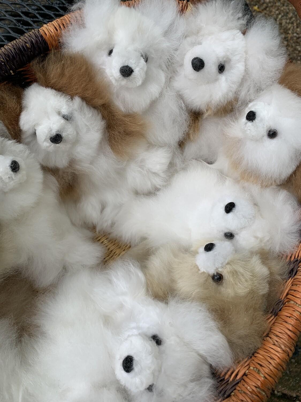 Tiny Alpaca Teddy Bears