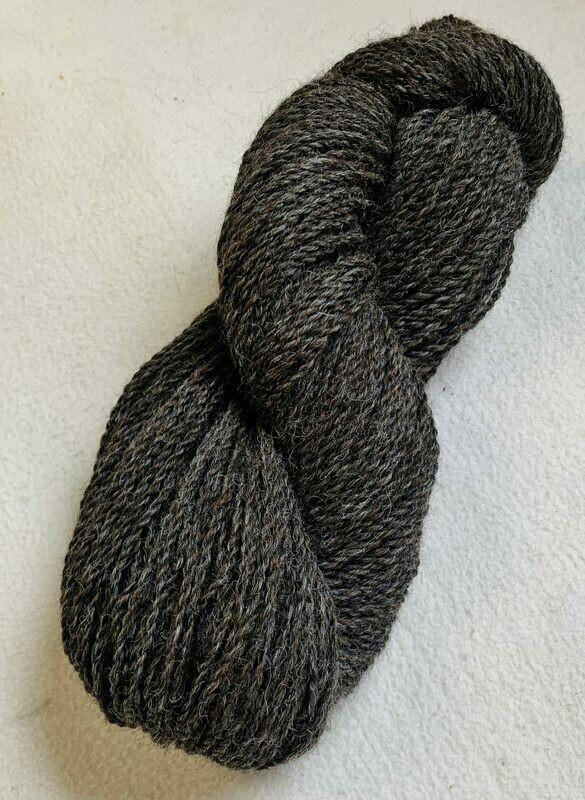 Alpaca Yarn - Charcoal