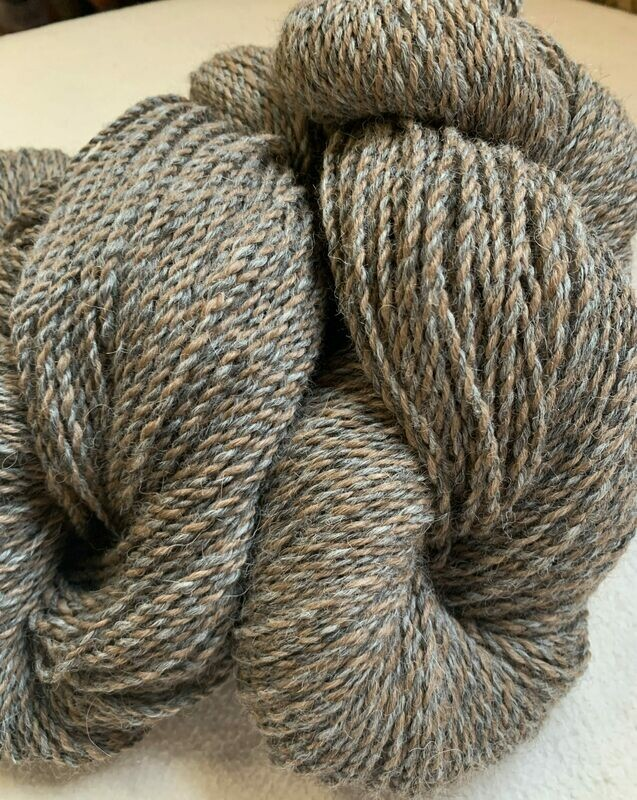 Alpaca Yarn - Hippotamus Gray
