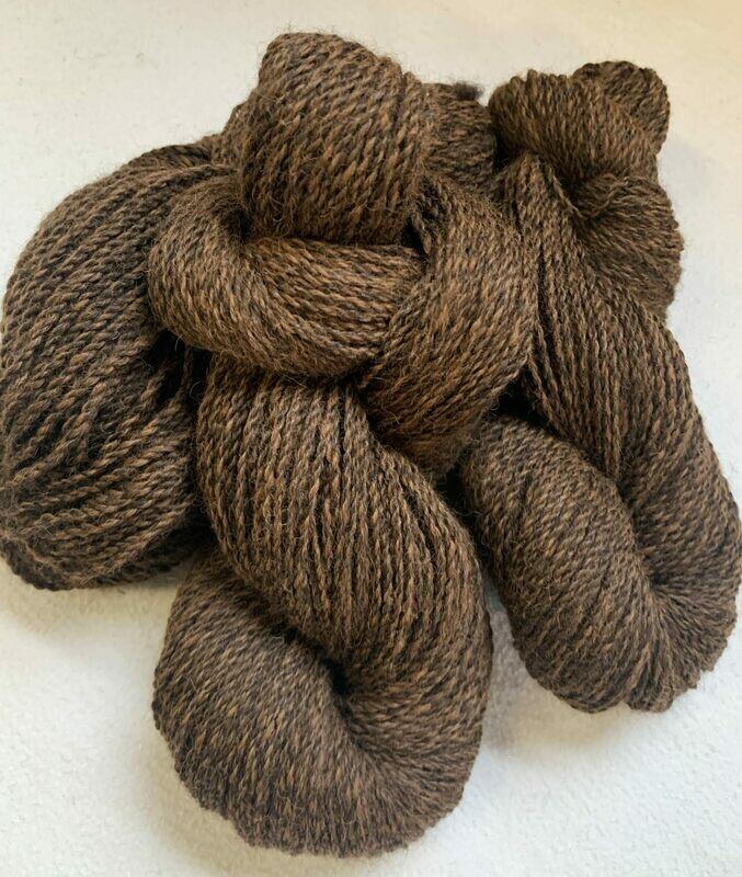 Alpaca Yarn - Carob