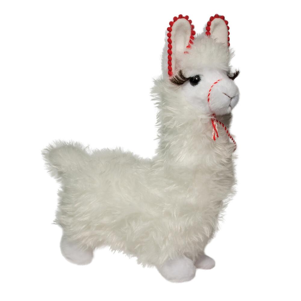 Storm White Llama