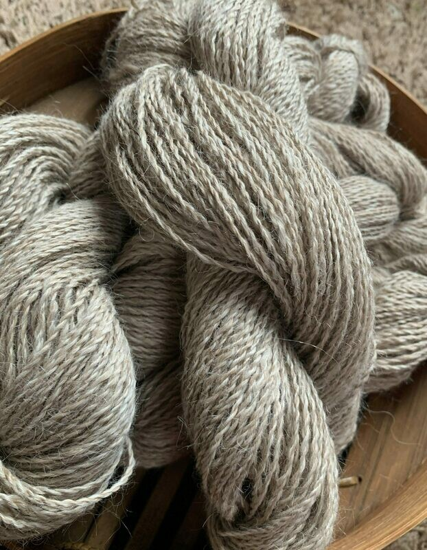 Suri Alpaca Yarn - Shelbourne Buff