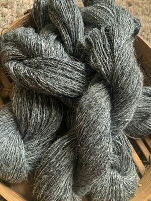 Suri Alpaca Sock Yarn - Tarnished Pewter