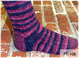 A Bump in the Rib Socks by Beth Lutz and Kim Javitt