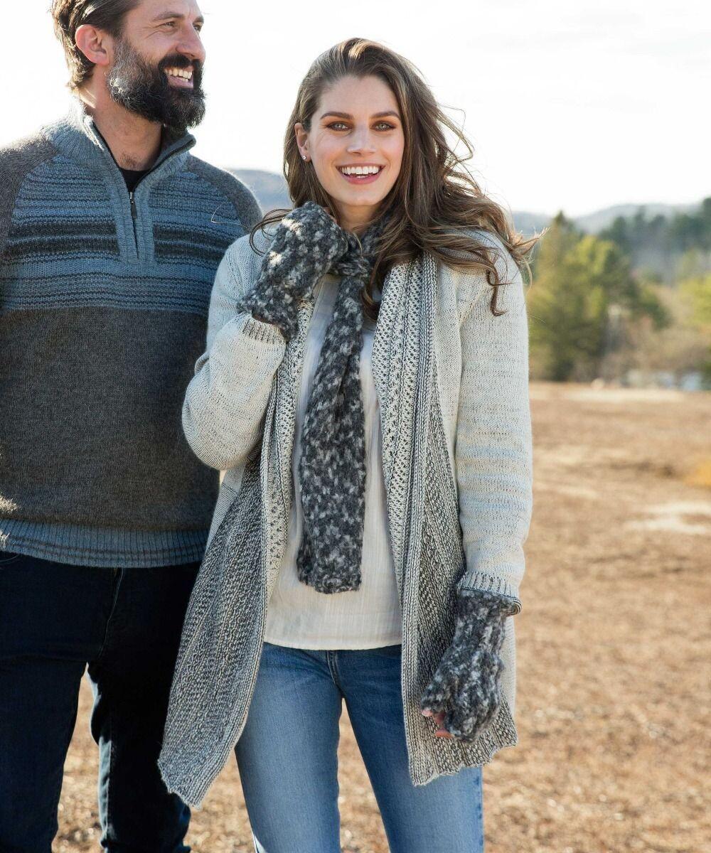 Crochet Alpaca Sweater