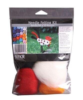 Rooster Needle Felting Kit