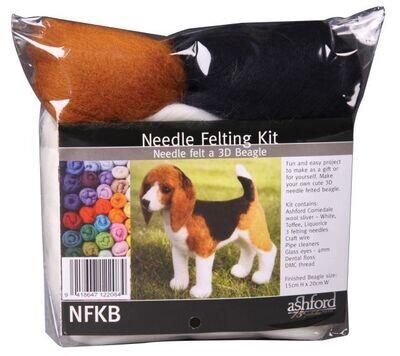 Beagle Needle Felting Kit