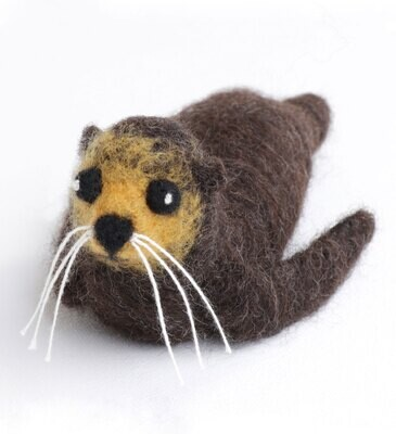 Seal Needle Felting Kit