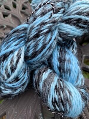 Espiral Alpaca Yarn - Blue Curacao