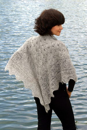 Misty Morning Shawl