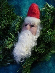 Santa Ornament Felting Kit