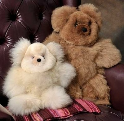 Baby Alpaca Teddy Bears