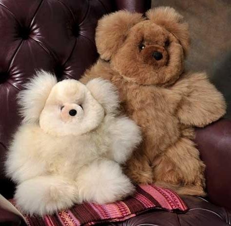 Baby Alpaca Teddy Bears - 12