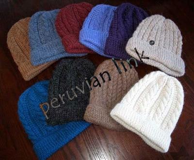 Trenza Cable Alpaca Hat