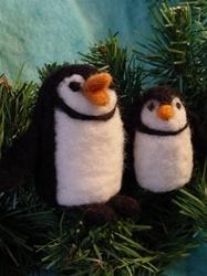 Penguin Felting Kit
