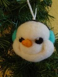 Snowman Ornament Felting Kit