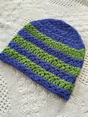 Star Striped Alpaca Hat