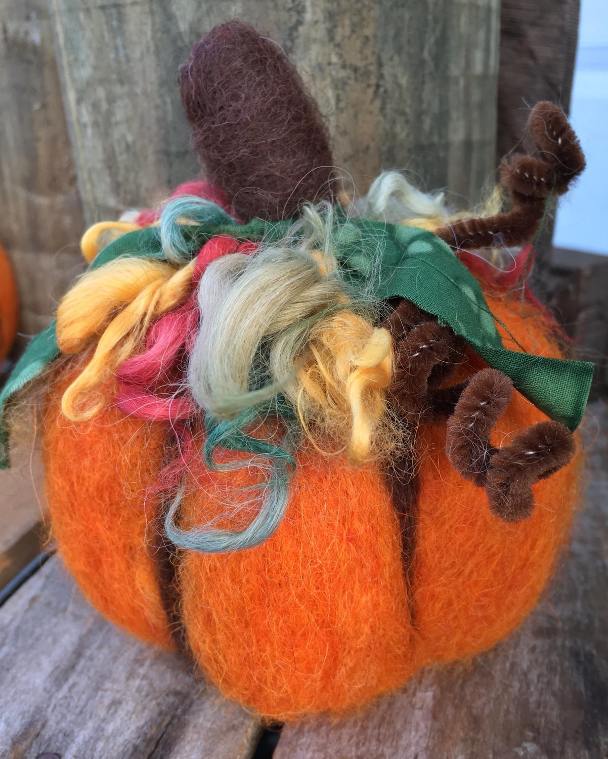 Pumpkin Needle Felting Kit