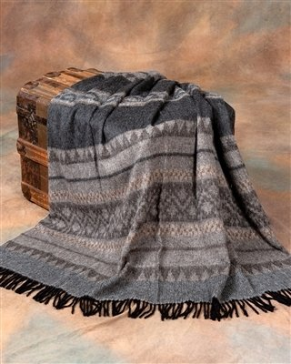 Cherokee Alpaca Throw