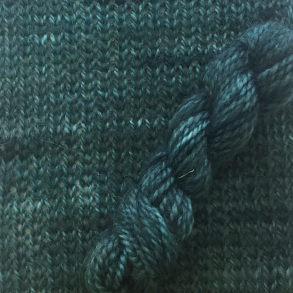 Symmetry Yarn - Out of Blue Comes Green