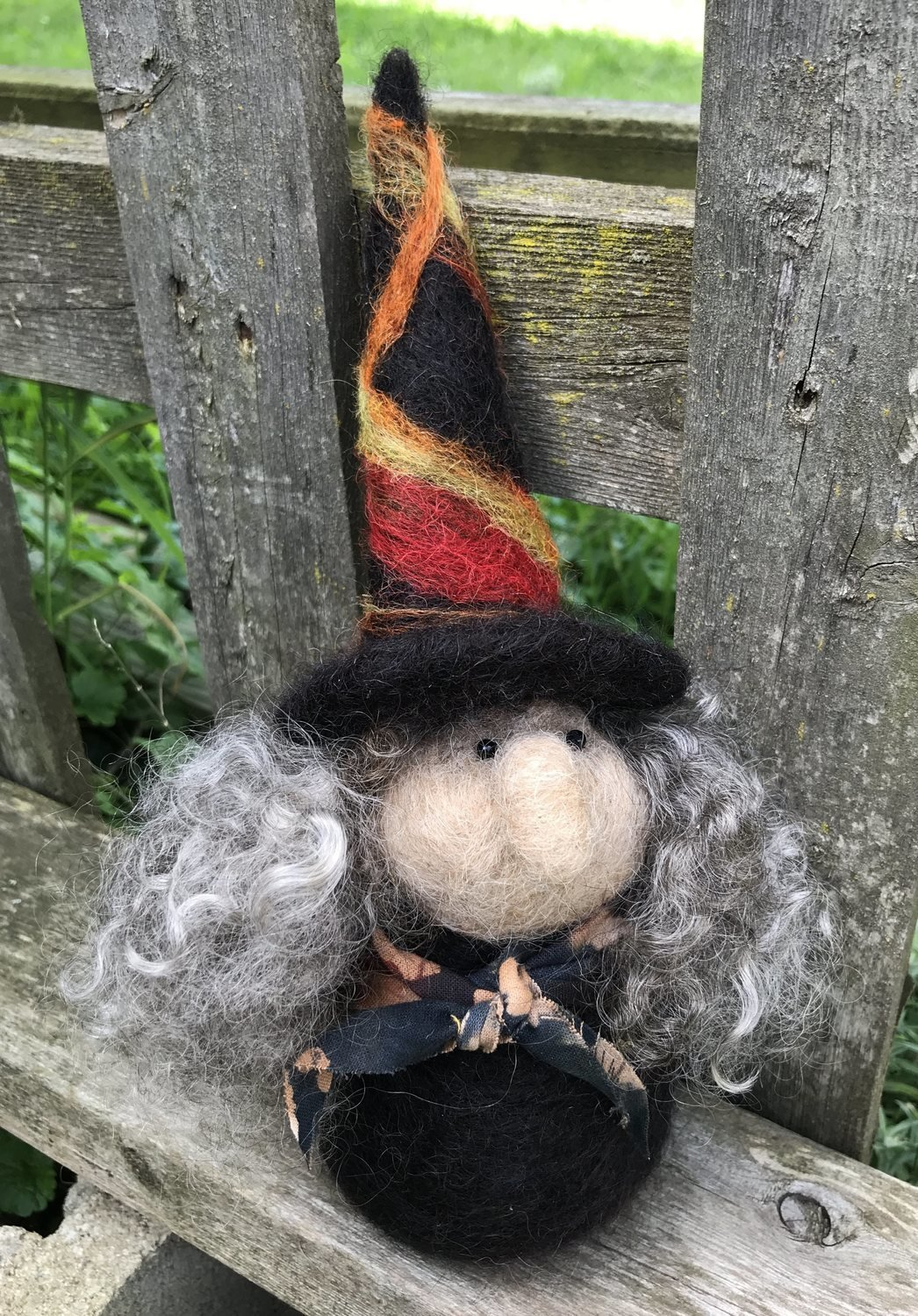 Witch Needle Felting Class