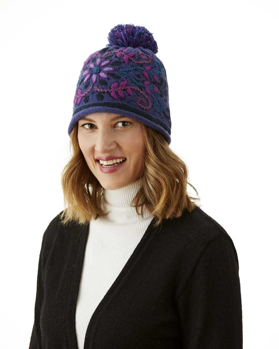 Florence Lined Alpaca Hat