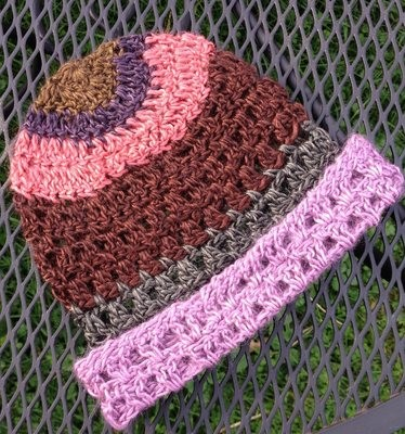 Striped Astral Hat