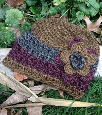 Astral Hat with Flower
