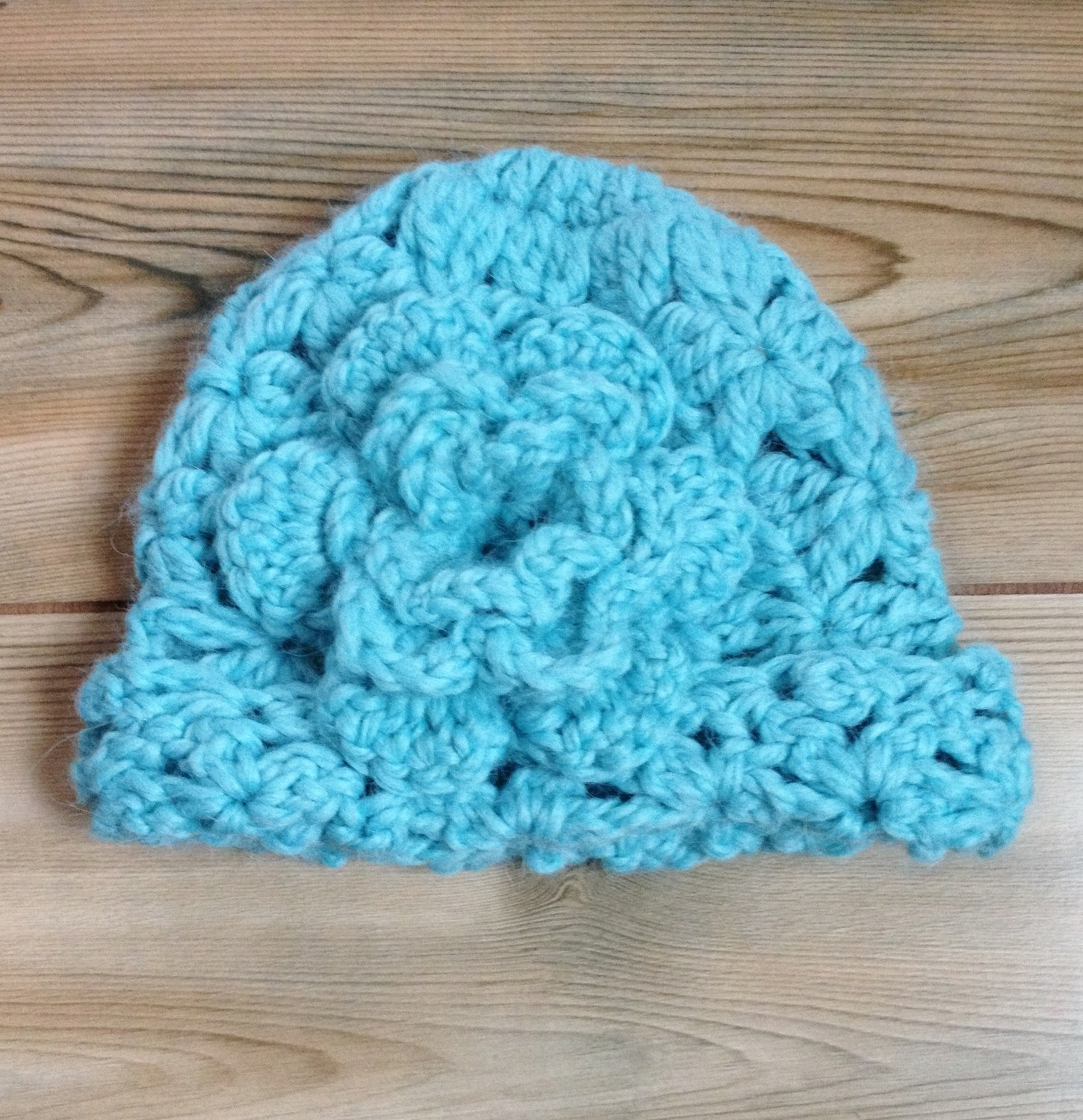 Children's Cloche Hat - 6-12 Months
