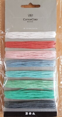 Cotton Cord (waxed)