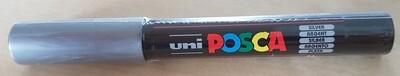 Posca Marker Pen PC-1M Silver