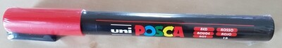 Posca Marker Pen PC-3M Red