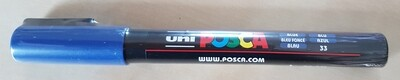 Posca Marker Pen PC-3M Blue
