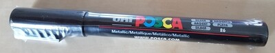 Posca Marker Pen PC-3M Silver