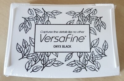 Versafine Ink Pad - Onyx Black