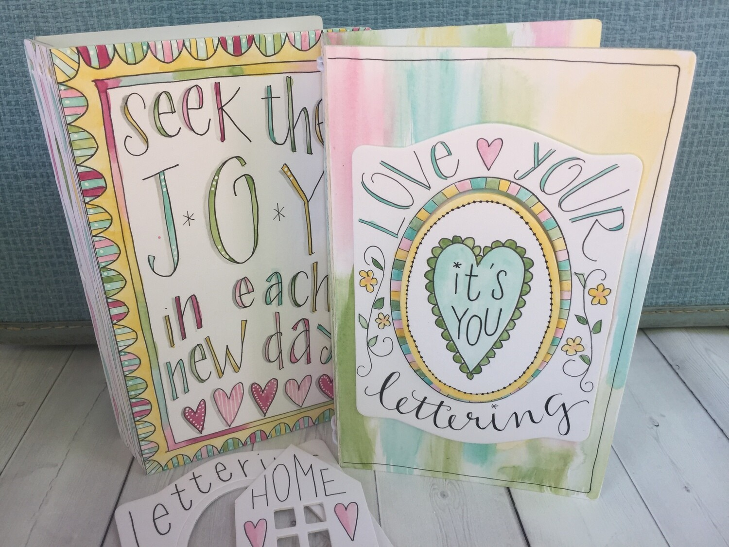 Love Your Lettering workshop with Eileen Hull (Paper Trail UK Tour) 7 September 2019