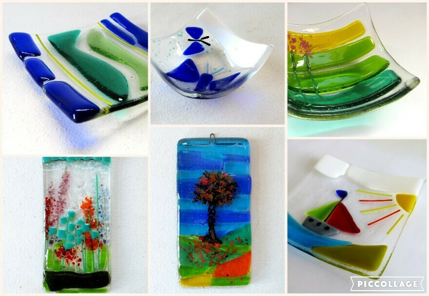Beginners Glass Fusing workshop with Roxanne Denny 20 October 2019