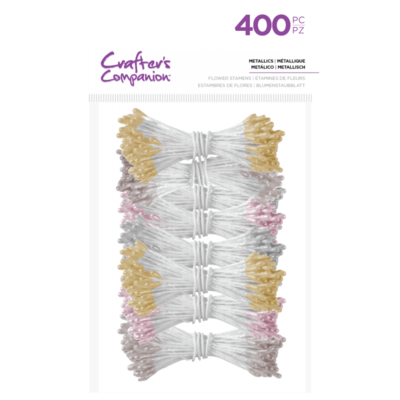 Flower Stamens - Metallics (400 pieces)