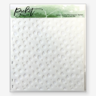 Random Dots Stencil - Picket Fence Studios
