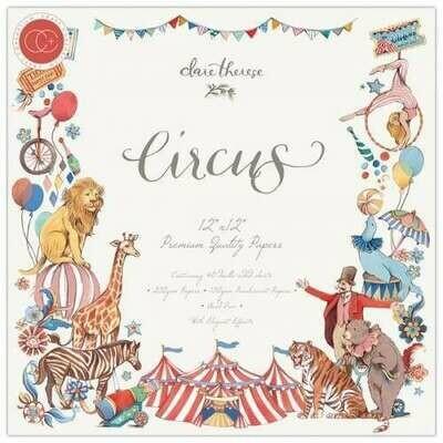 Craft Consortium - Circus - Premium Paper Pad 12