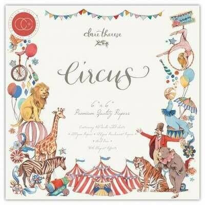 Craft Consortium - Circus - Premium Paper Pad 6