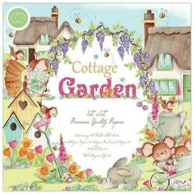 Craft Consortium Cottage Garden - Premium Paper Pad 12