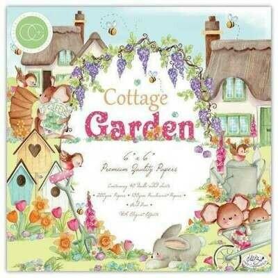 Craft Consortium Cottage Garden - Premium Paper Pad 6